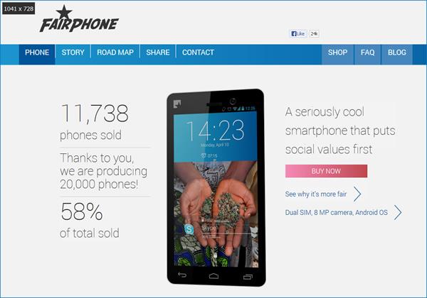 Fairphone - eine weitere Innovation im Bereich Fair Trade