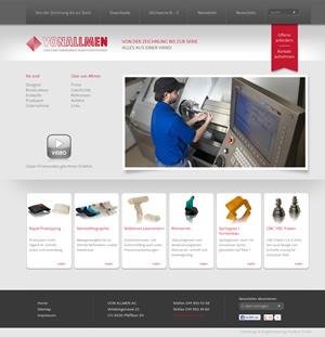 VONALLMEN AG: Spezialist für Formenbau und Spritzgiessen