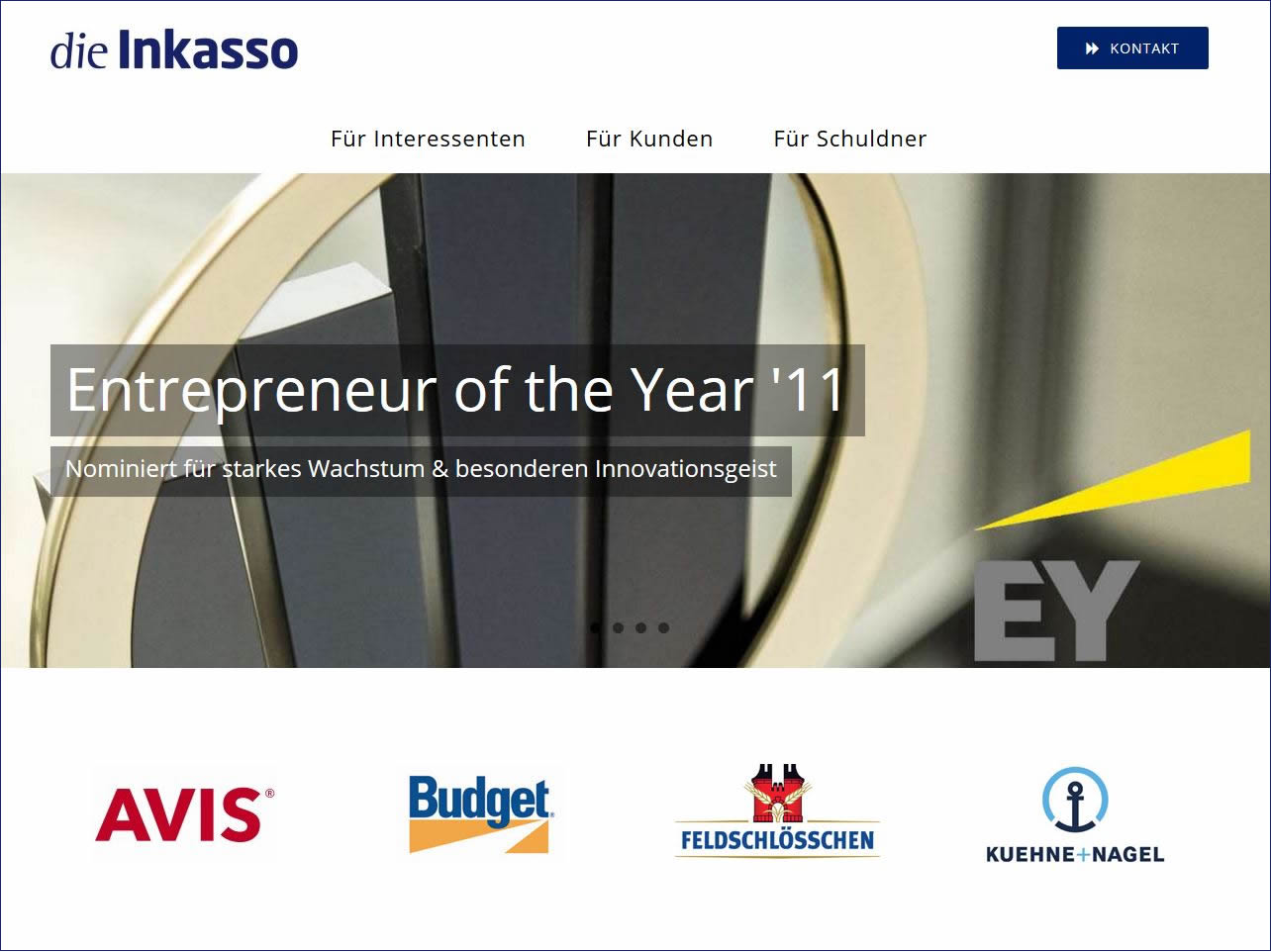 Inkasso Organisations AG, Inkasso Unternehmen